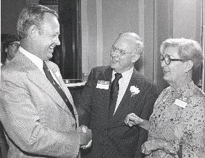 Congressman James Broyhill, Mr. and Mrs. Moss