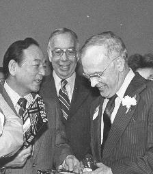 Congressman Matsunaga and Mr. Moss